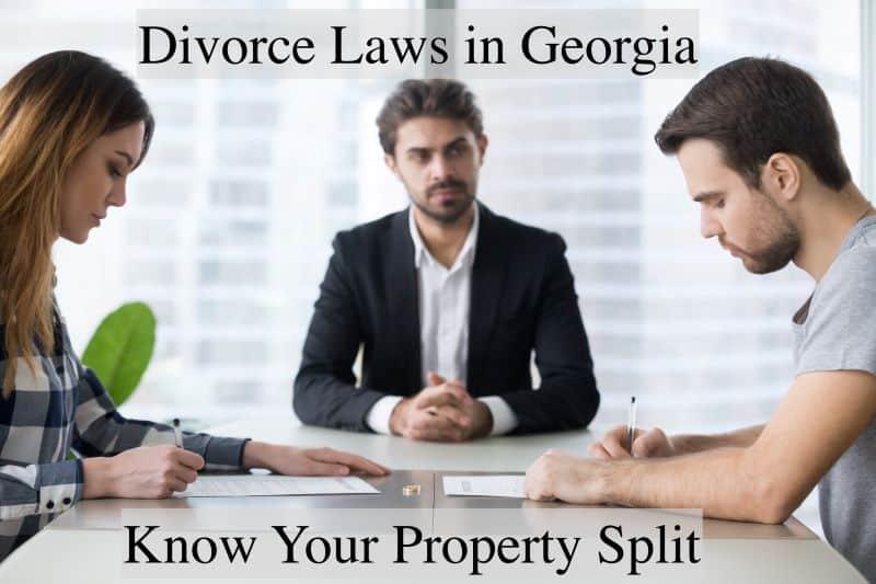 divorce laws georgia